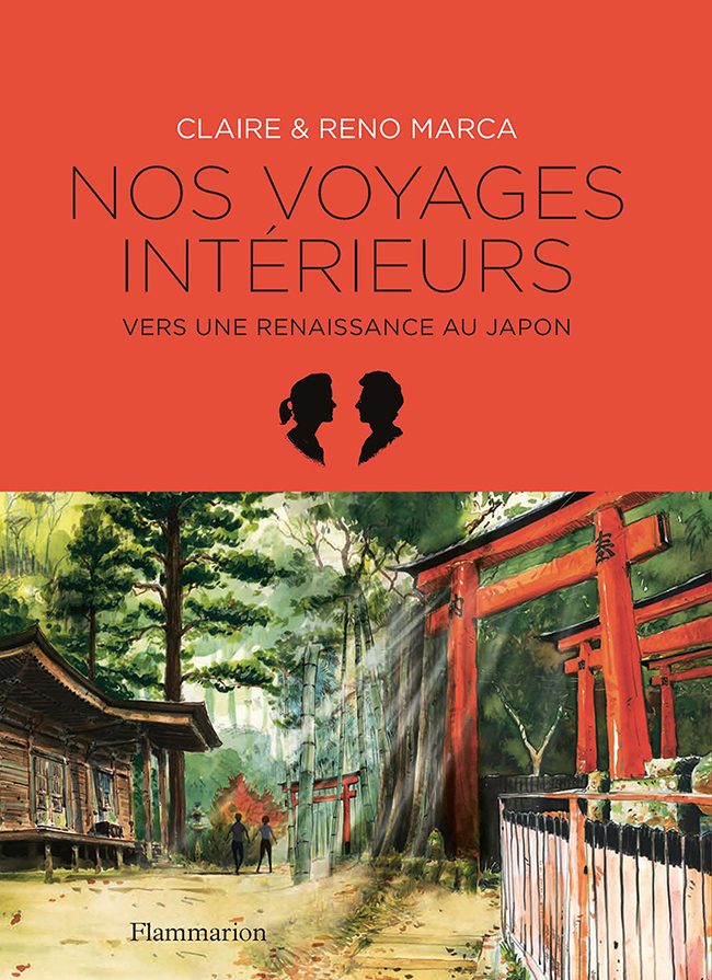 From a trip to Japan like a rebirth after an accident of life, Claire and Reno Marca walk trough their extraordinary traveler' roadtrip and provide us an intimate, universal and poignant immersion in their experience (published in novembre 2018).